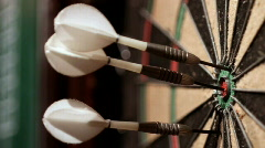 darts 19 HD - stock footage
