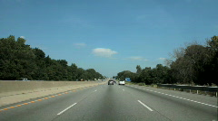 Lazy highway Stock Footage