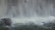 Stock Video Footage of Gushing Waterfall