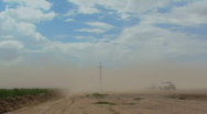 Stock Video Footage of Dust Storm Time Lapse