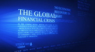 Stock Video Footage of Business global crisis