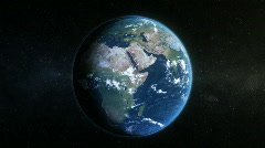 Rotating earth, globe, sphere Stock Footage