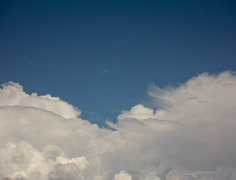 4K Film 24p Soft white clouds in the blue sky timelapse series - 3 Stock Footage