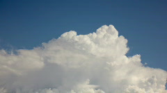 HD Soft white clouds in the blue sky timelapse series - 2a Stock Footage