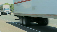 Interstate traffic (1 of 5) Stock Footage