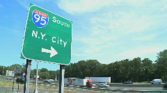 I-95 traffic (2 of 4) Stock Footage