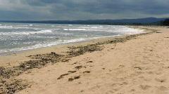 Coastal landscape Stock Footage