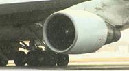 Plane engine Stock Footage