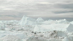 Ilulissat Icefjord time lapse Stock Footage