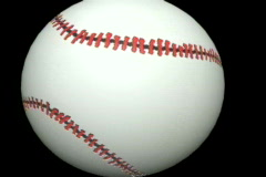 0735 baseball transtion - stock footage