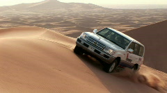 Desert Safari 01 Stock Footage