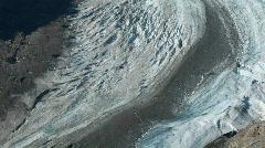 Salmon Glacier tilt up P HD 0218 Stock Footage