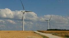 Wind Turbine 7 - stock footage