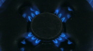 Gas flame 15 Stock Footage