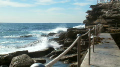 Bronte Beach NSW 02 Stock Footage
