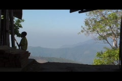 Shadow Thai Child - stock footage