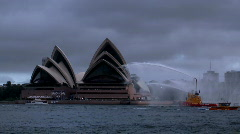 Sydney Harbour Opera House Stock Footage