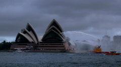 Sydney Harbour Opera House - stock footage
