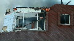 House palo ikkunan P HD 0750 Arkistovideo