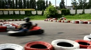 Stock Video Footage of Karting