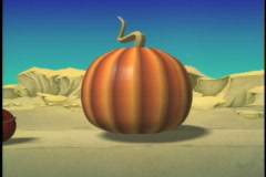 1009 pumpkin to a coach Stock Footage