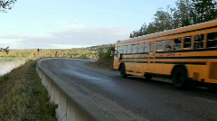 School Bus Stock Footage