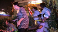 Stock Video Footage of DEATH Protesters wounded in grenade attack, April 4, 2010, Bangkok, Thailand