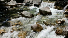 Mountain River 3 Stock Footage