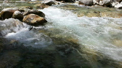 Mountain River 1 Stock Footage