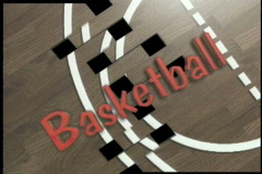 1120 basketball opening Stock Footage