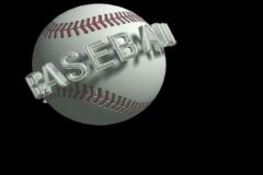 1119 softball baseball hardball Stock Footage