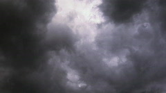 Rain Clouds Stock Footage