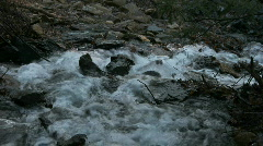 Rapid Rocky Stream Stock Footage