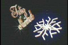 1234 Feliz Navidad, Merry Christmas Stock Footage