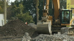 Front End Loader Stock Footage