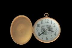 1209 Un Pedazo de Tiempo, pocket watch Stock Footage