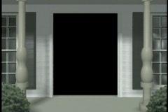 1207 Casa de la Novia, entering the home Stock Footage