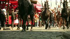 Cavalcade  Full HD 1080p Stock Footage