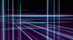 Blue and purple grid Stock Footage