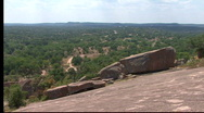 Enchanted Rock State Park, Texas Stock Footage