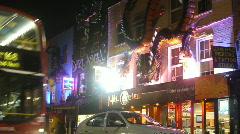 London night traffic - stock footage