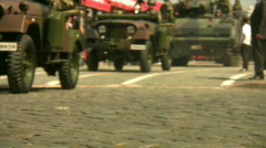 Military Car Full HD 1080p Stock Footage