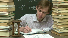Student  - stock footage
