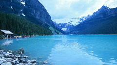Canada Lake Louise pan P HD 7477 Stock Footage