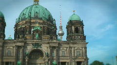 JHD - City - Berlin - Dom 00039 Stock Footage