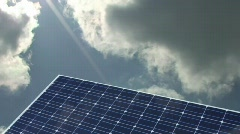 Solar cell - stock footage