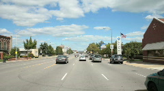 Jefferson Avenue Detroit2 Stock Footage