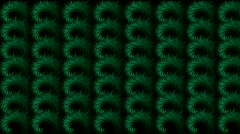 Abstratct rotation green pattern,used as background.Wool,plush,material,knitting Stock Footage