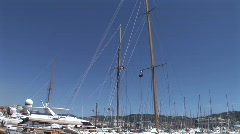 Canne-harbor-01 Stock Footage