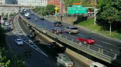 Brooklyn Queens Expressway, PAL Stock Footage